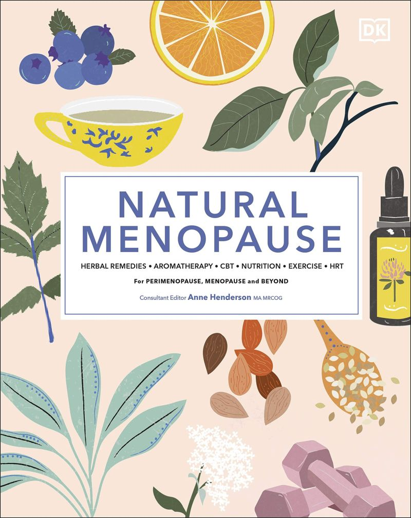 Front cover of Natural Menopause book